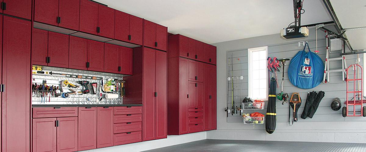 Garage Storage Systems   Garage Organization   Garage Makeover   Des Moines IA Area